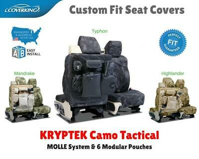 KRYPTEK CAMO TACTICAL CUSTOM FIT SEAT COVERS for NISSAN LEAF