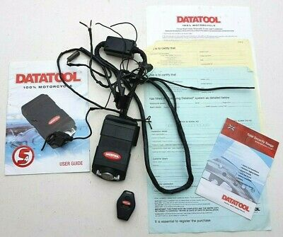 Datatool Alarm S4 C1 Red with Remote Fob Transmitter