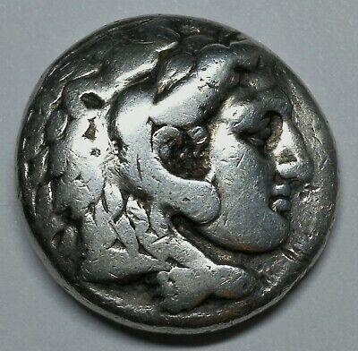Kings of Macedon Alexander III the Great 336-323BC Silver Tetradrachm Coin LOT13