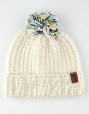 NEW - THE NORTH FACE Women's COZY CHUNKY Vintage White BEANIE  -  OSFA