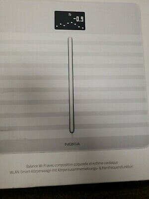 Withings / Nokia Body Cardio Heart Health & Body Composition Digital Wi-Fi Scale