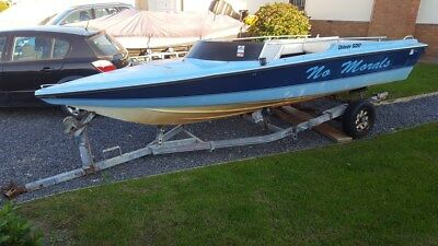 Project speedboat - Driver 500 Shell / Hull only with trailer