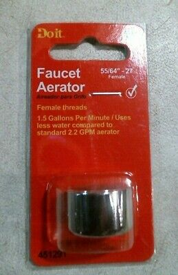 Lot Of 10 Faucet Adapter 13//16-27 Thread 13//16 27 Aerator P650
