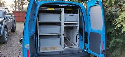 Configurable Van racking / shelving / storage system including Safe and Pipe Box