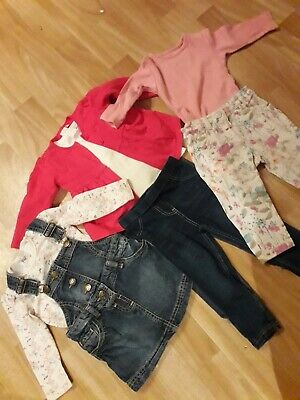 9-12 & 12-18 month girls clothing bundle Next, Bluezoo, F&F
