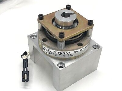 "Electroid BFSB-7-6 24V Failsafe Electromagnetic Brake / Clutch  3/8"" Bore"