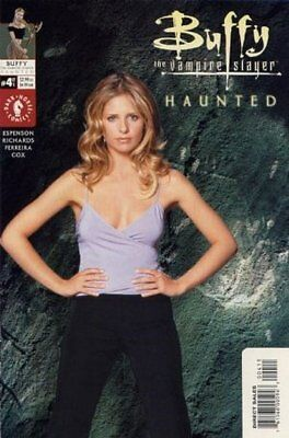 Buffy The Vampire Slayer : Haunted (2001 Ltd ) #4 Presque Neuf (NM) Couverture B