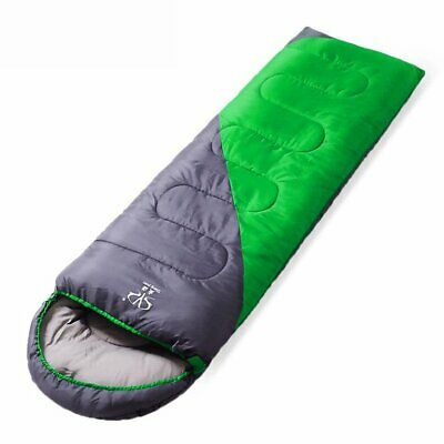 B1 Portable Lightweight Fleece Sleeping Bag For Outdoor Camping Travel Hiking ❃⚡