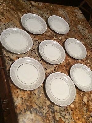 imperial china whitney Saucers Set Of 8