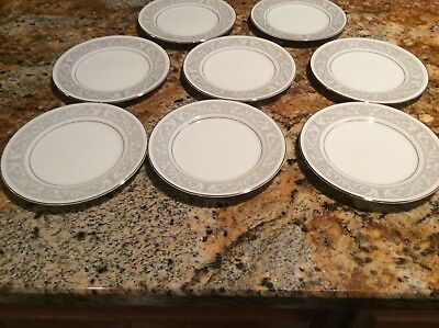 imperial china whitney Bread Or dessert Plates Set Of 8