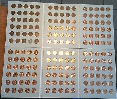 1909-2018 Lincoln Wheat Cent Collection BU Memorial 1c Set *FREE PRIORITY SHIP*