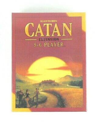 Settlers of Catan Board Game 5-6 Player Extension