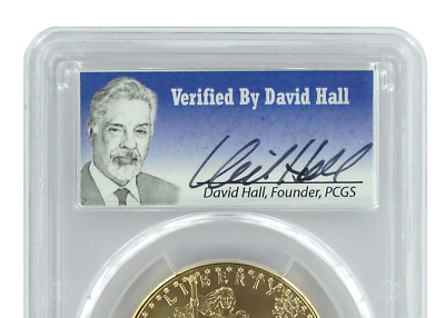 2015 W American Gold Eagle Proof PCGS PR70DCAM First Strike - David Hall Pop 9