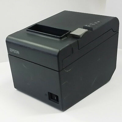 USED Epson TM-T82II Thermal Receipt Label POS T82 USB Printer Point of Sale 1106