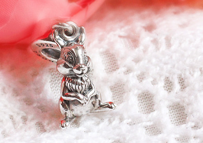 Authentic Pandora Sterling Silver Disney, Thumper Pendant Charm #796342