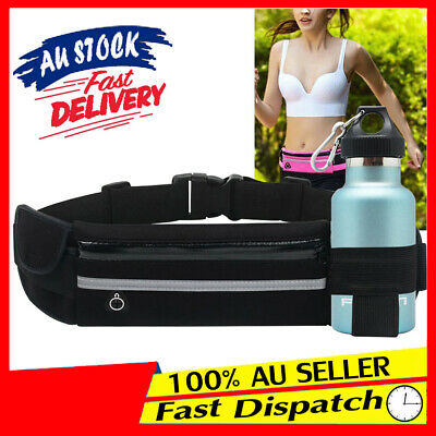 Waterproof Zip Bum Pouch Fanny Wallet Pack Belt Running Sports Money Waist Bag