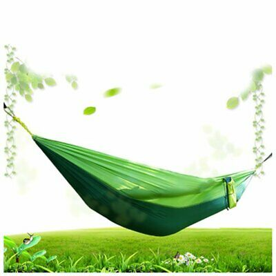 210t Nylon Parachute Cloth Hammock Double Outdoor Leisure Ultra Light Hammock ❃⚡