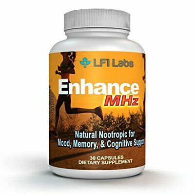 Natural Energy Brain Booster Supplement – Active Focus, Anxiety Relief, Memory