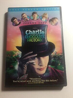 Charlie and the Chocolate Factory (Full Screen Edition) Tim Burton Film