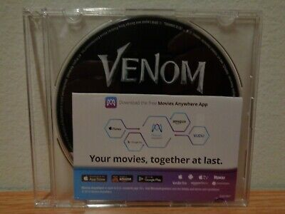 Venom 4K Ultra Blu-ray Disc and Digital HD NO CASE