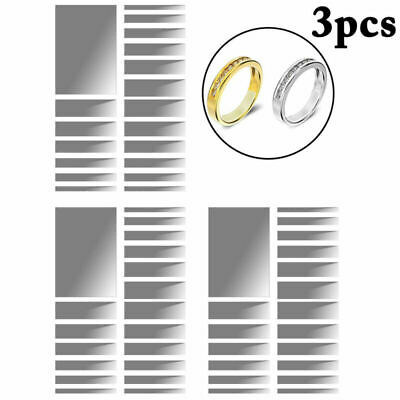 3PCS Ring Size Adjuster Invisible Ring Guard Ring Sizer for Loose Ring