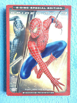 SPIDER-MAN 3 Widescreen 2-disc Special Edition DVD Movie