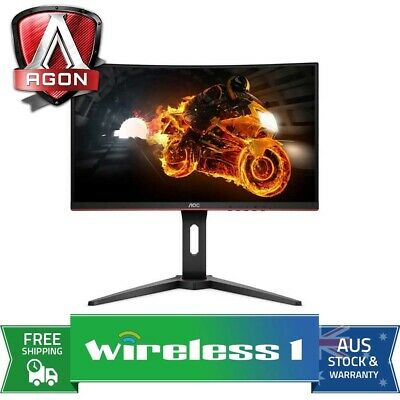 AOC C24G1 23.6in Full HD 1ms 144Hz Narrow Bezel FreeSync VA Curved Monitor