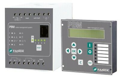 Fanox PBM – Motor Management System: Monitoring, Control & Protection