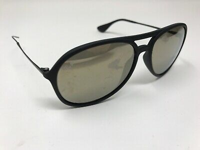 e0cf3332b27 Authentic RAY-BAN ALEX RB4201 622 8G Black Grey Gradient Lens 59mm Sunglass