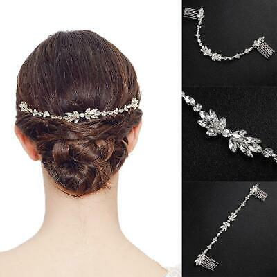 Crystal Bridal Hair Comb Crystal Headpiece Wedding Accessories Hair Jewelry
