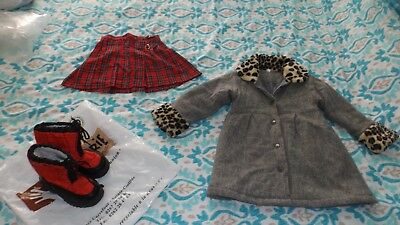 Bulk lot girls clothes suit age 3 to 3½ girls coat + winter boots