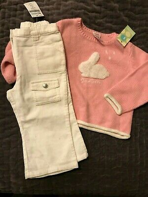 8ded971af NWT GYMBOREE BUNNIES Snow Cute Mommy s Snuggle Bunny Set 6-12 Months ...