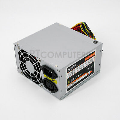 500W ATX PSU PC Power Supply  for Desktop Computer Intel AMD