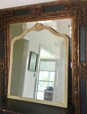 Quality Antique Mirror - Solid Timber, Heavy; Perfect over a fireplace ELEGANT