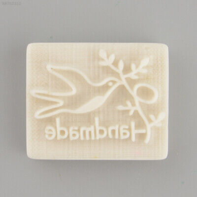 35F9 Pigeon Desing Handmade Yellow Resin Soap Stamp Stamping Mold Craft Gift New