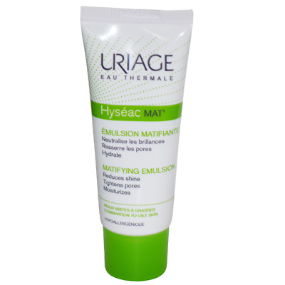 NEW Uriage Eau Thermale Hyseac Mat' Mattifying Care for Combination to Oily Skin