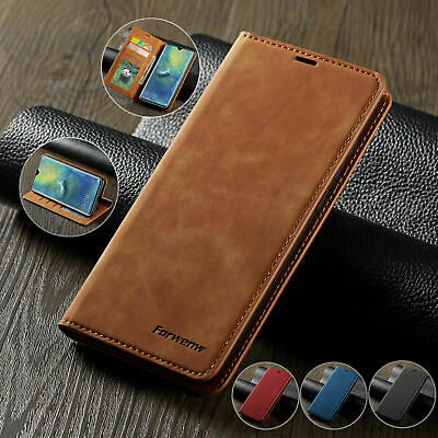 Case for iPhone 6S 7 8 Plus XS Max Magntic Flip Wallet Leather Book Phone Cover