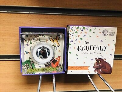 Gruffalo 50p 2019 Silver Proof Coin Royal Mint 2019