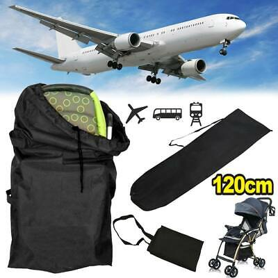 Gate Check Pram Travel Bag Umbrella Buggy/Stroller/Pushchair Waterproof Cover