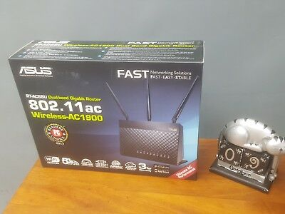 Still new ASUS RT-AC68U AC1900 Dual-Band ADSL/VDSL Gigabit Wi-Fi Modem Router