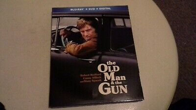 The Old Man and the Gun (2019)--DVD Only***PLEASE READ FULL LISTING***