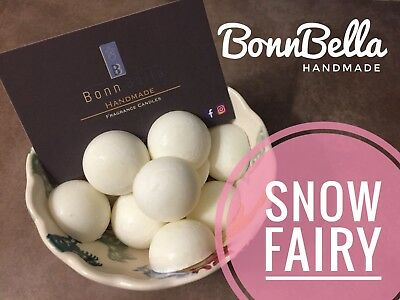 10 X INDIVIDUAL HIGHLY SCENTED WAX MELTS - Inspired by Snow Fairy - Handmade