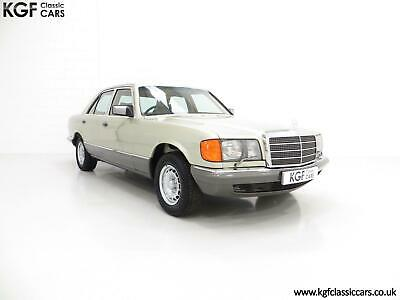 An Unrepeatable Mercedes-Benz W126 380SE with Just 29,513 Miles and Full History