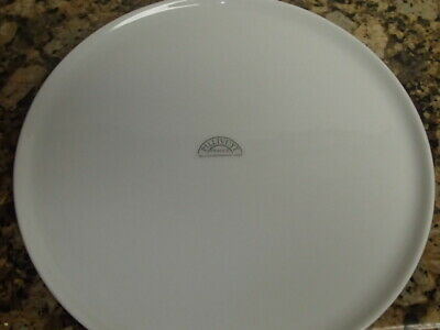 """PILLIVUYT FRANCE TRADITIONAL FRENCH WHITE PORCELAIN Round 11 1/2"""" Serving Plate"""