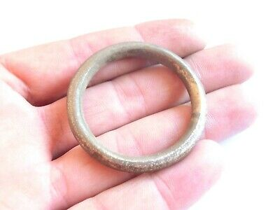 Exquisite! Huge ANCIENT Celtic Silver Suspension Ring > PROTO MONEY - 300 BC