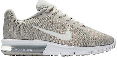 5d79a6d29 NIKE WOMEN'S AIR MAX SEQUENT 2 852465 011 SIZE 8 Pale Grey / Light Bone