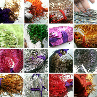 Metallic French Wire, Bullion Wire, Gimp Wire 100/400 Gms findings FREE SHIPPING