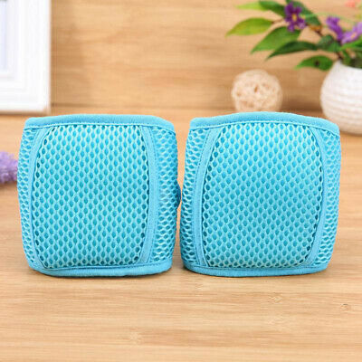 Baby Breathable Mesh Crawling Knee Pads Anti-Slip Support Adjustable Safety Z