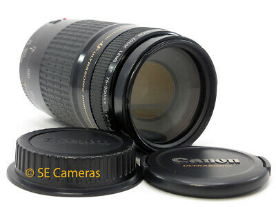 Canon Ef 75-300Mm F4-5.6 Usm Zoom Lens **excellent Condition**