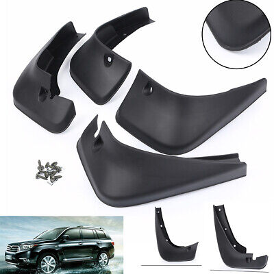 Splash Guards Mud Flaps 76626-48020 Fit Toyota Highlander 2001-2007 2005 06 ha